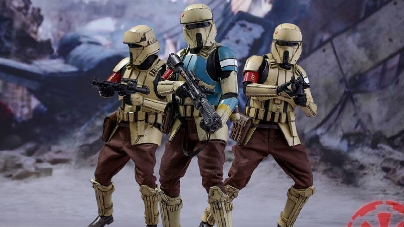 Les Shoretroopers de Rogue One arrivent chez Hot Toys