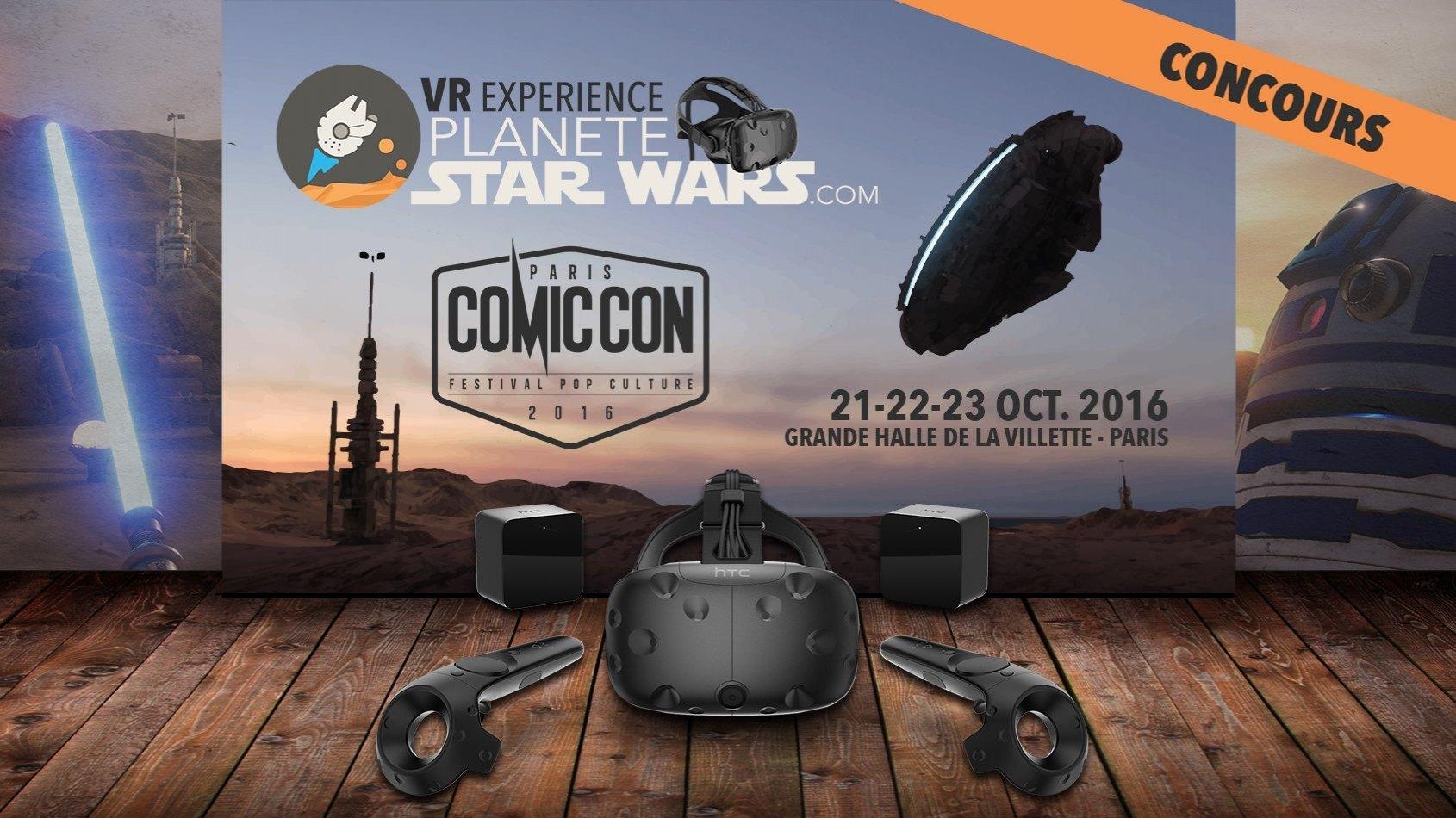 Planète Star Wars VR Experience - Immergez-vous au Comic Con Paris !