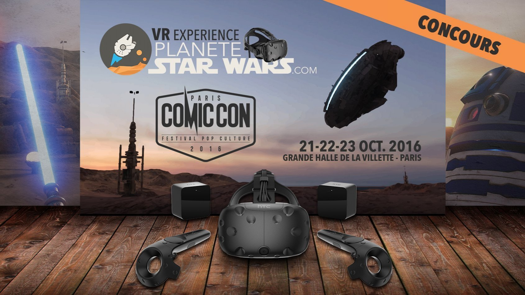 Plan�te Star Wars VR Experience - Immergez-vous au Comic Con Paris !