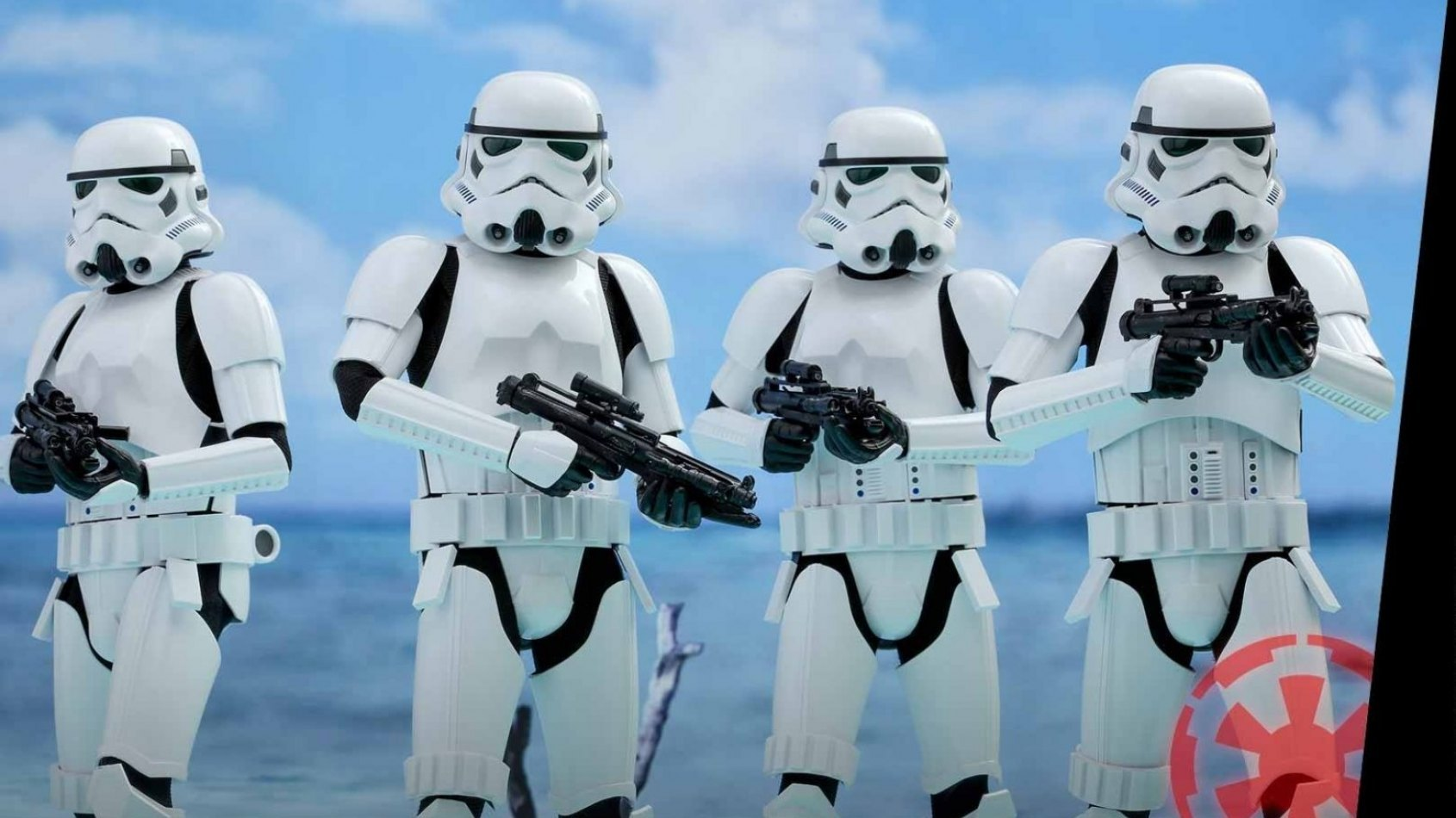 Hot Toys présente ses Stormtroopers version Rogue One