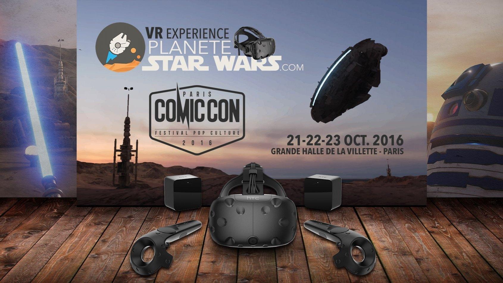 Plan�te Star Wars VR Experience - R�servez vos s�ances au Comic Con !
