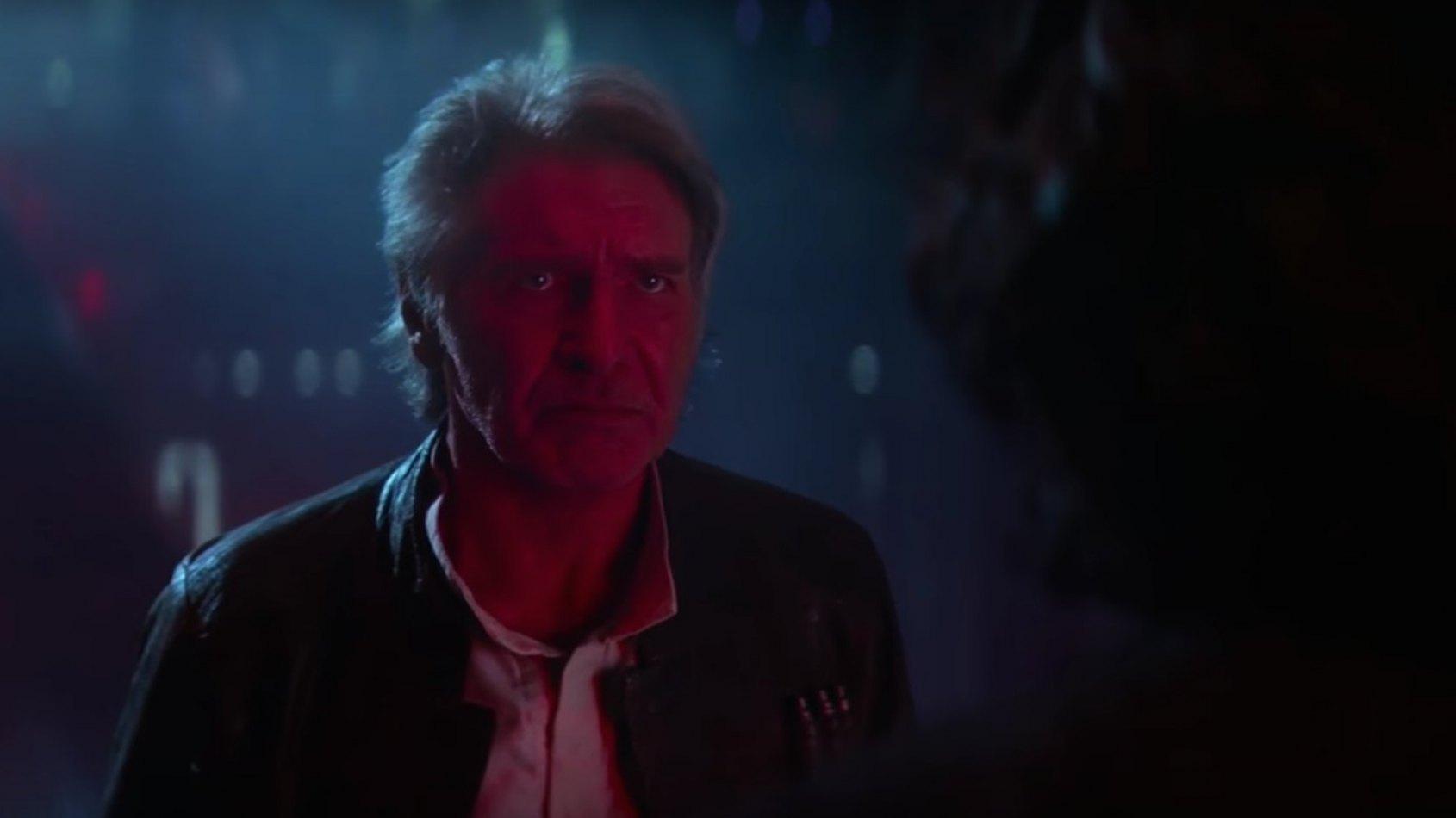 J.J. Abrams revient sur LA sc�ne entre Han Solo et Kylo Ren