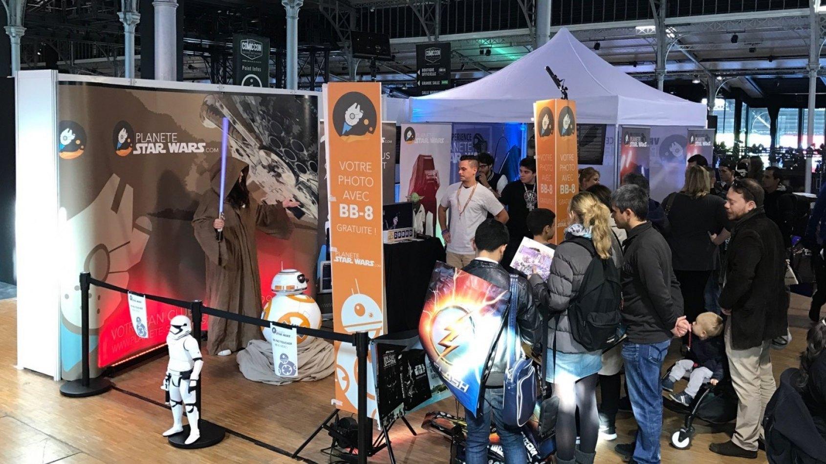 Dernier jour pour expérimenter la VR Experience au Comic Con Paris