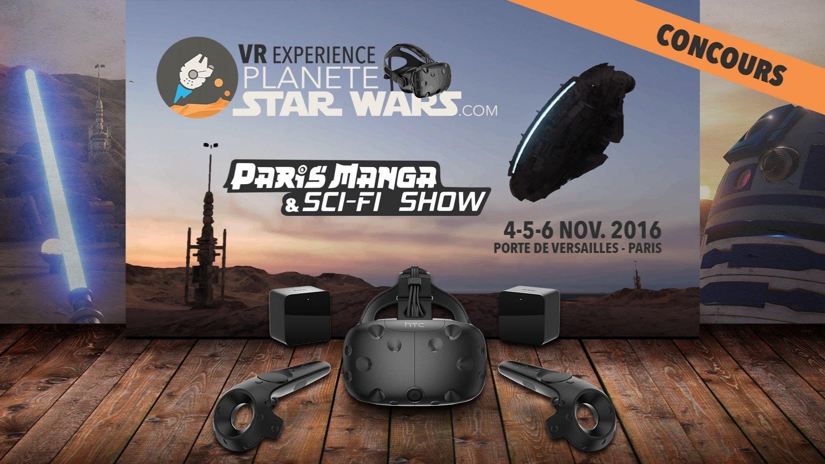 Plan�te Star Wars VR Experience - Immergez-vous � Paris Manga !