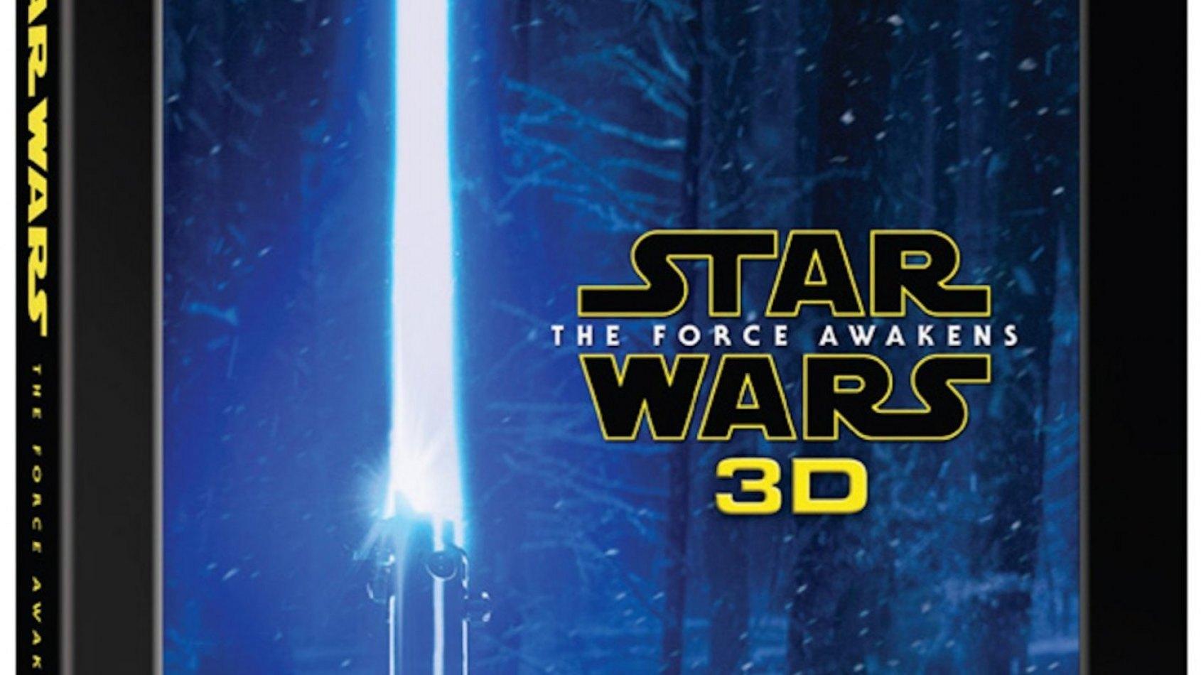 Sortie aujourd'hui du Blu-ray 3D du Réveil de la Force