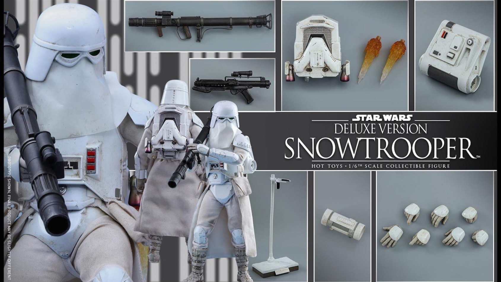 Hot Toys: Un Snowtrooper Version Deluxe vu dans Battlefront