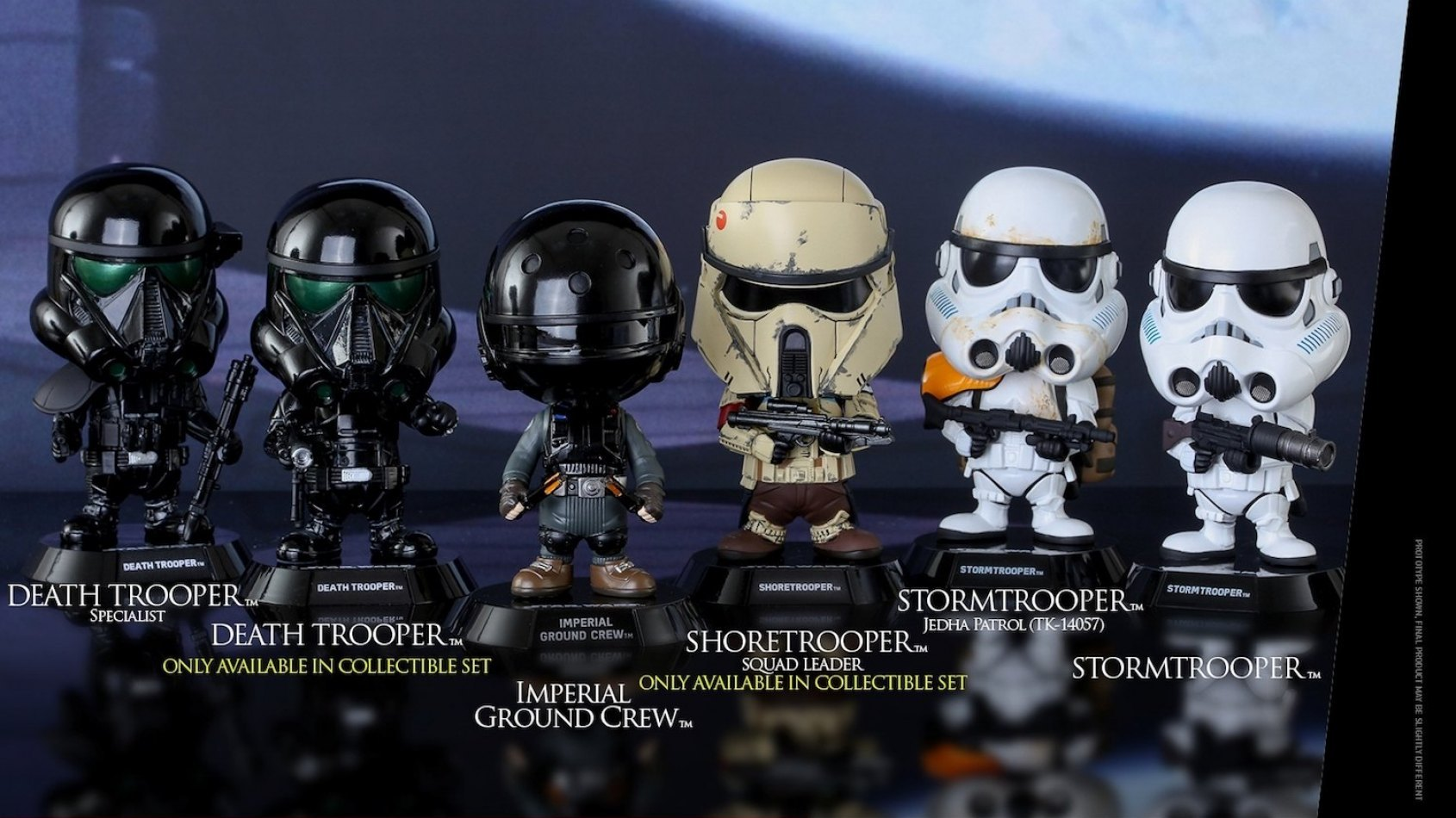 Hot Toys: les bobble-head Cosbaby Rogue One