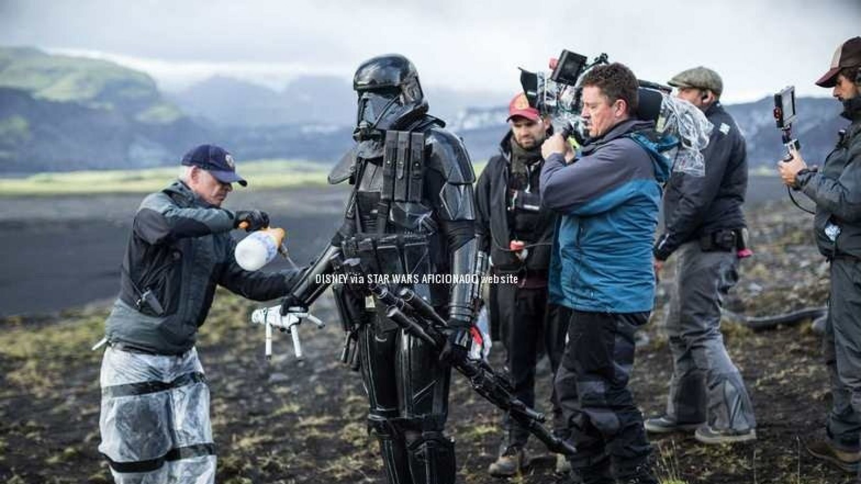 Neuf photos des coulisses de Rogue One !