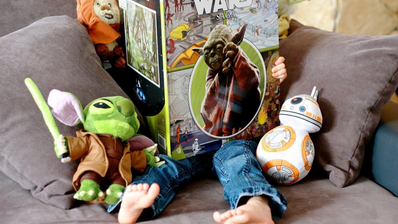 Review : Cherche et Trouve Géant Star Wars Saga
