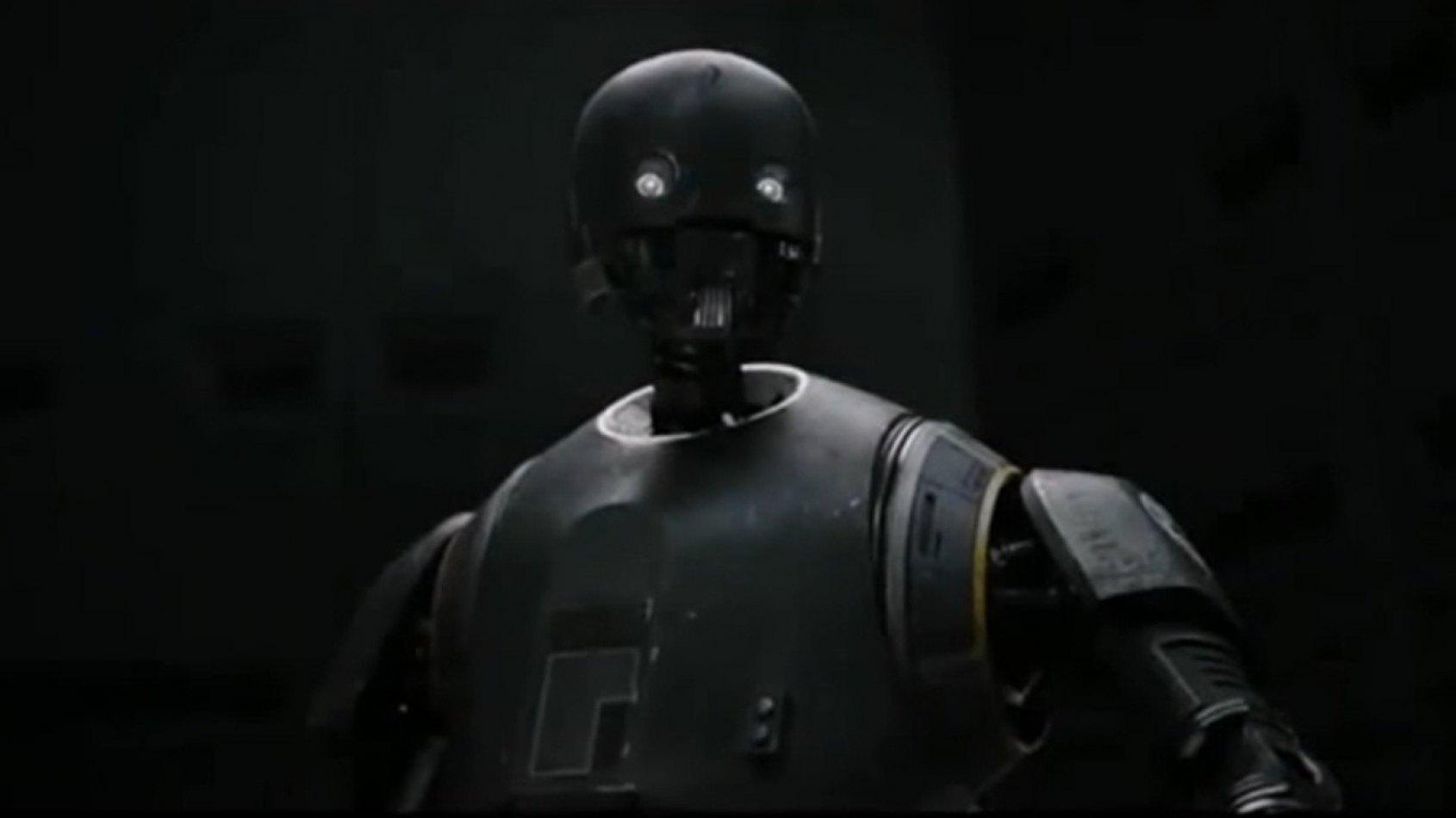 K-2SO en pleine action dans le nouveau Spot TV Rogue One !