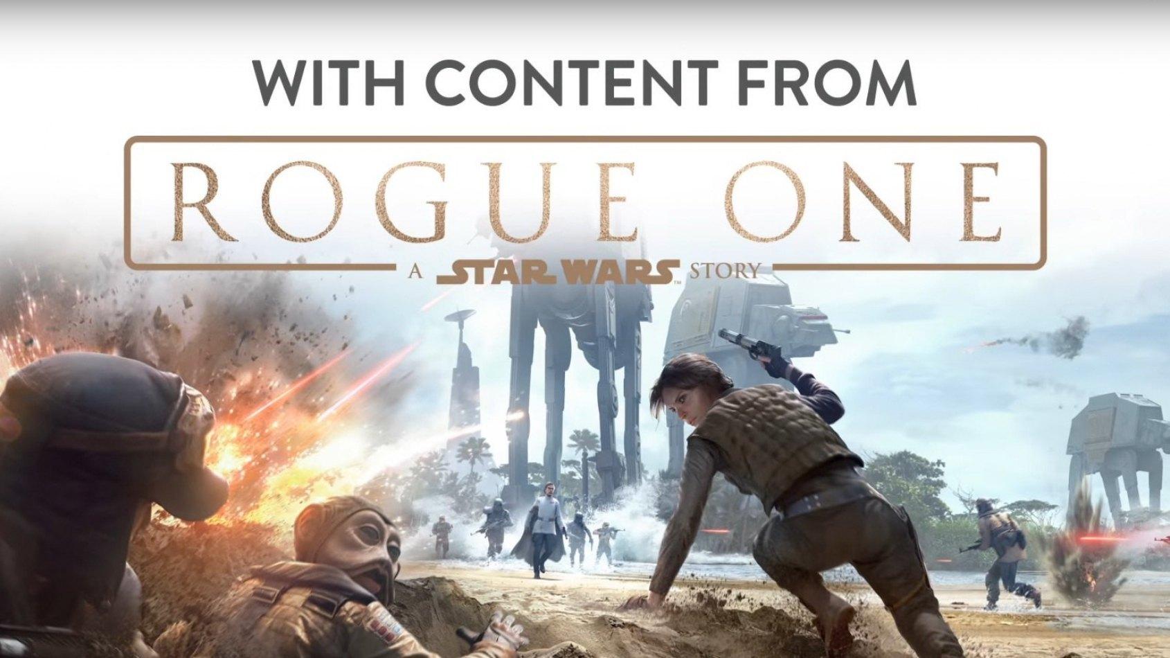 Rogue One débarque dans Battlefront !