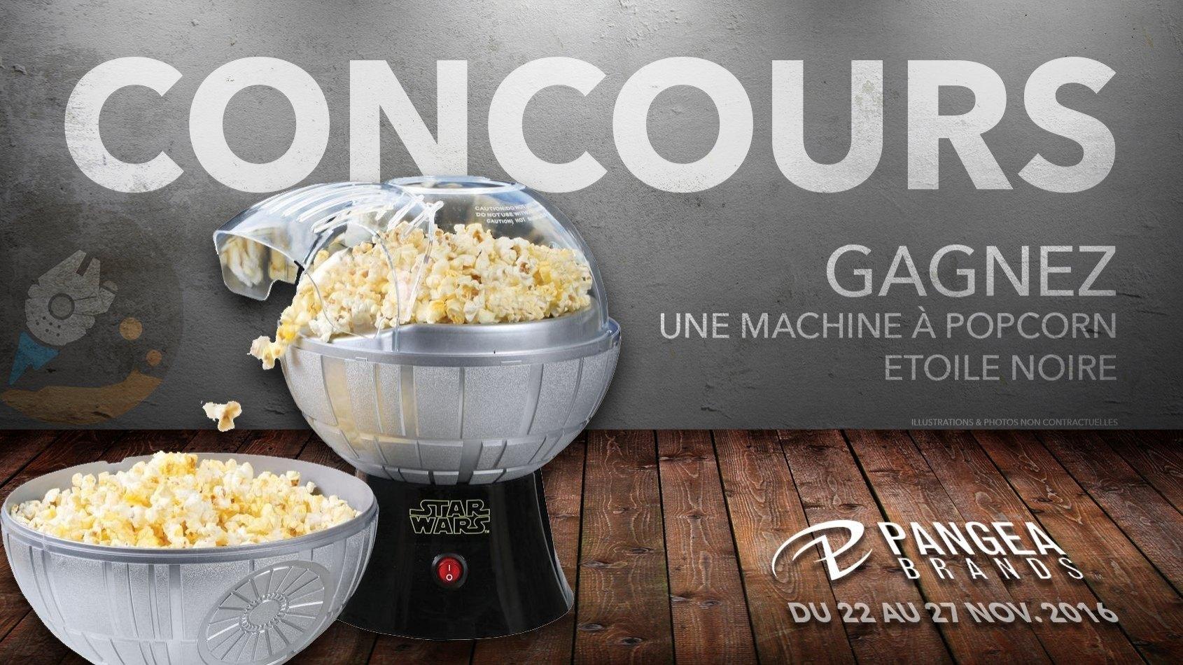 CONCOURS : Gagnez une machine à pop corn Etoile Noire !