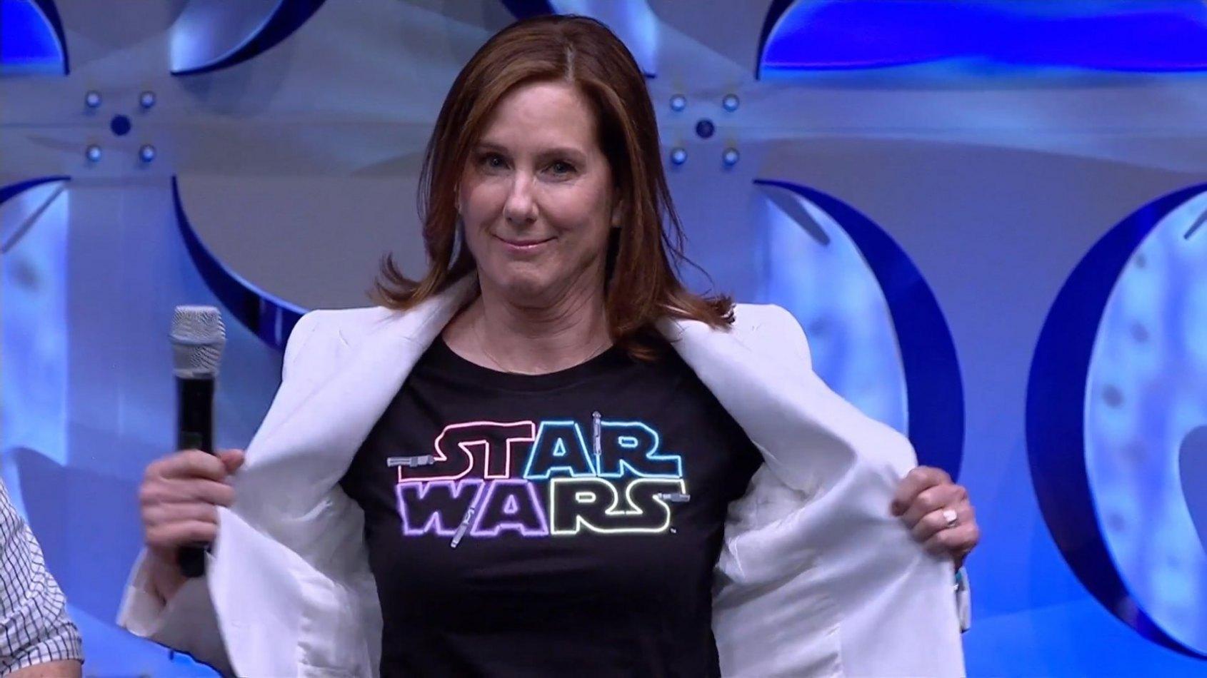 Kathleen Kennedy évoque l'avenir de Star Wars après l'Episode IX