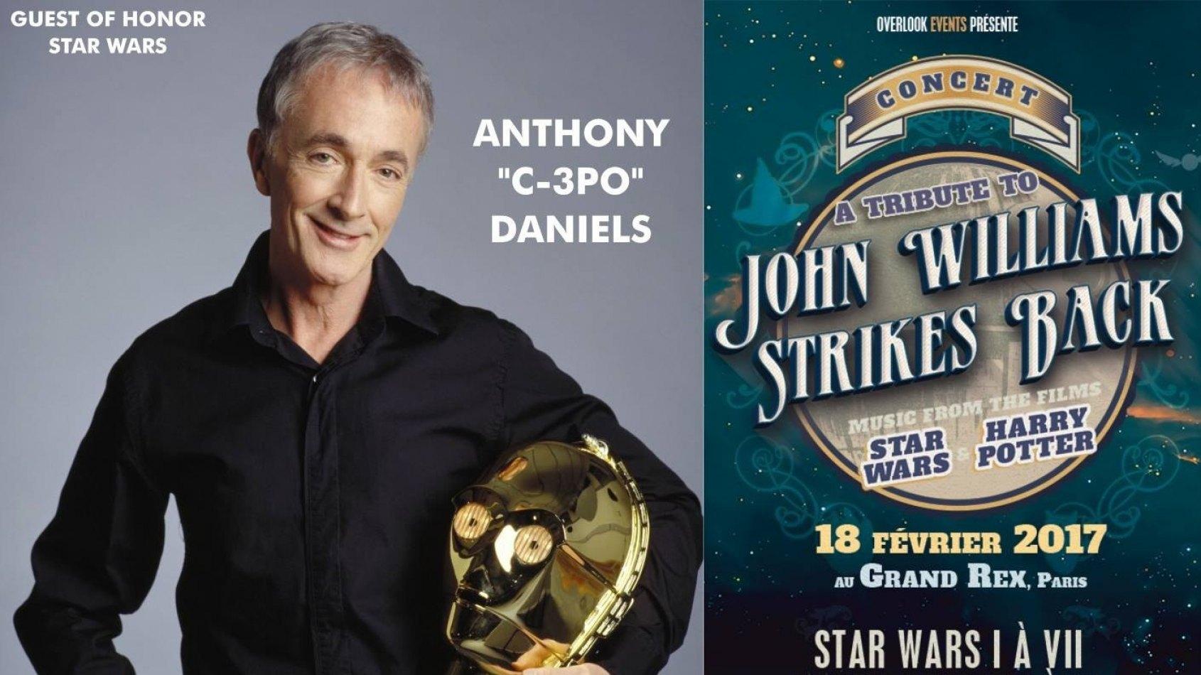 Anthony Daniels sera l'invité du Grand Rex pour un concert spécial !