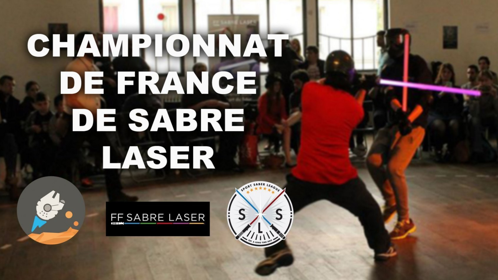 Notre Reportage Vidéo au Championnat de France de Sabre Laser !