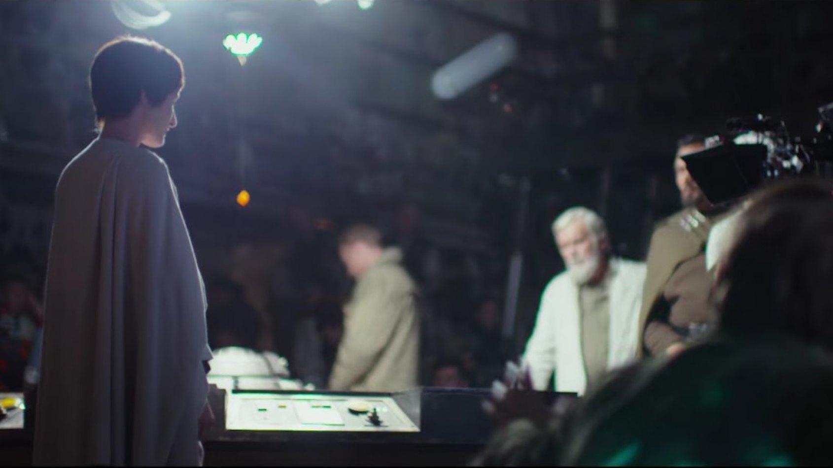 1ère photo d'un personnage de la prélogie de retour dans Rogue One