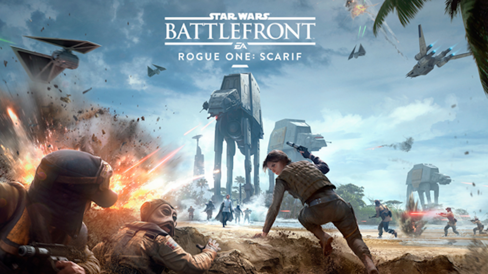 Un trailer pour Star Wars Battlefront - Rogue One: Scarif