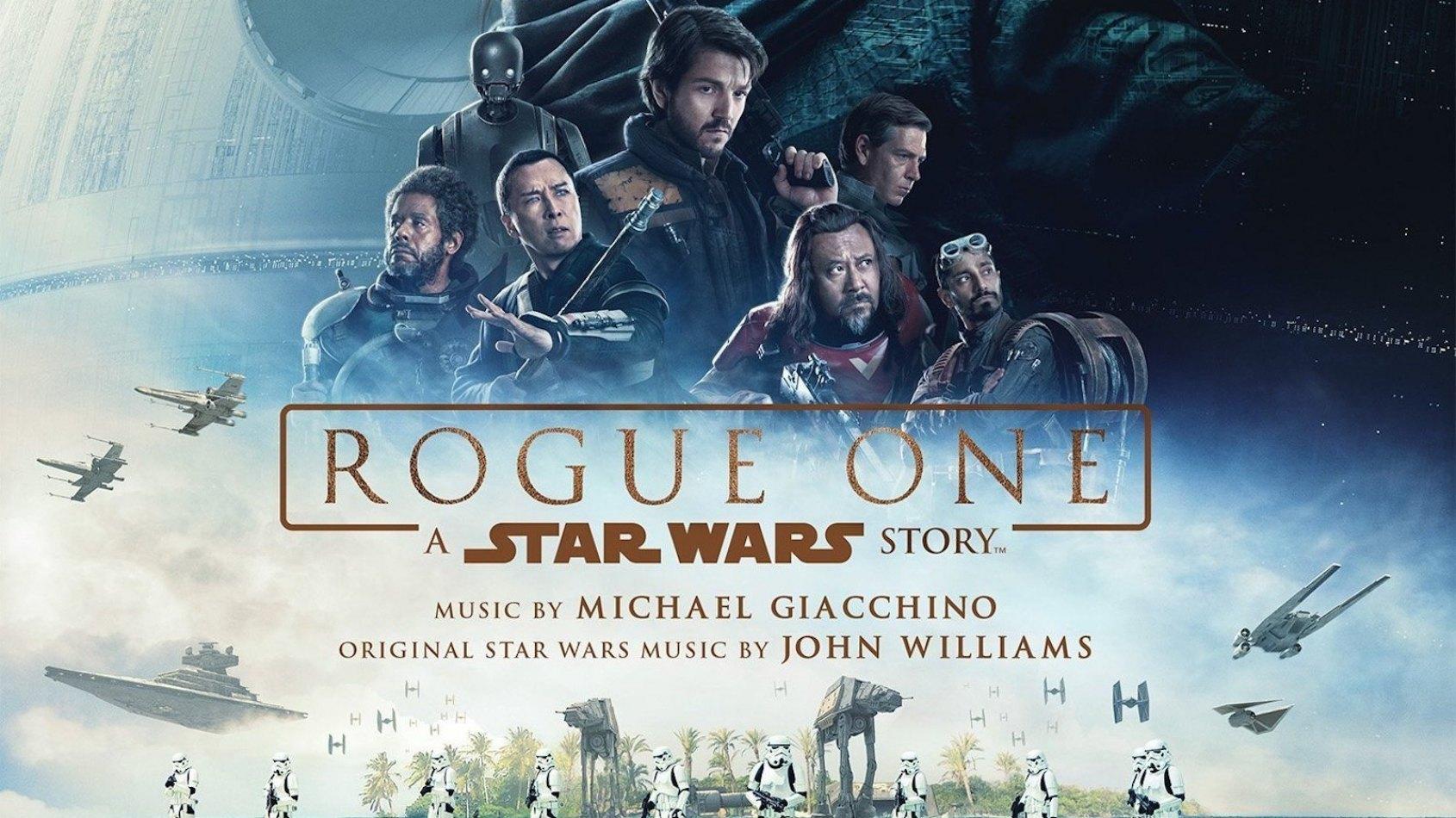 Une jaquette officielle pour les BO de Rogue One