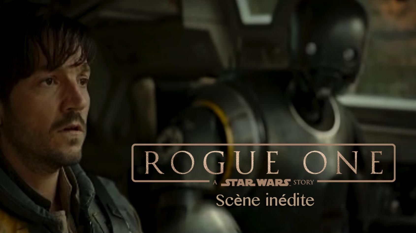 Le cast de Rogue One était en live sur Twitter et Facebook
