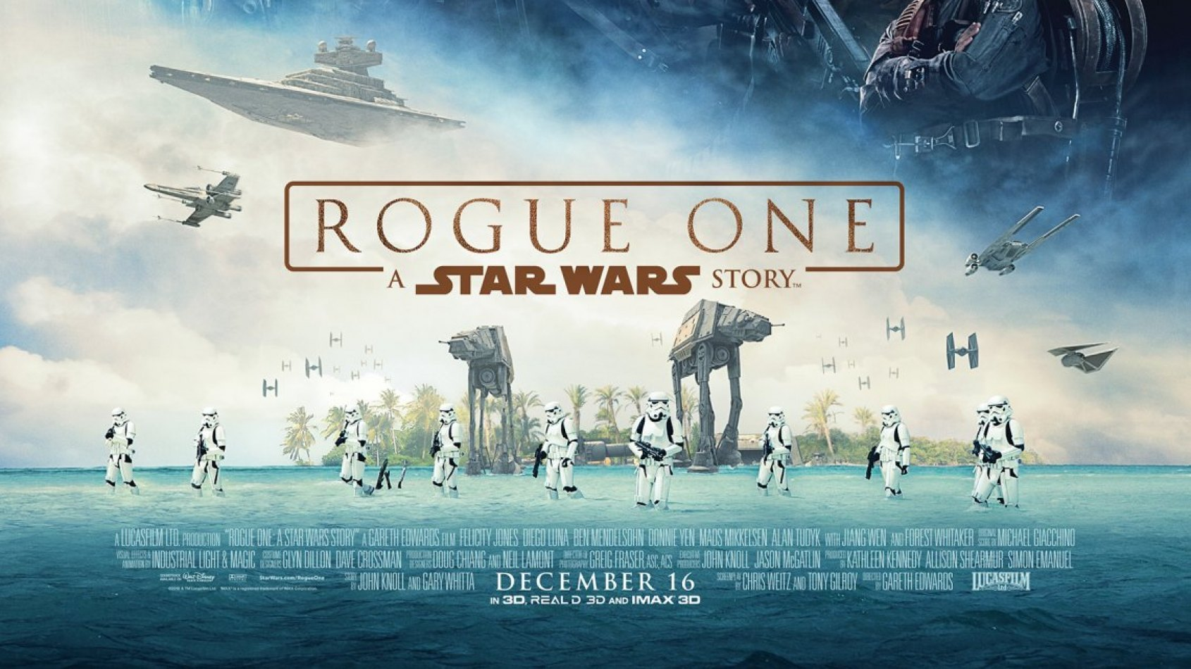 Gareth Edwards a envoyé un correctif du poster de Rogue One à ILM