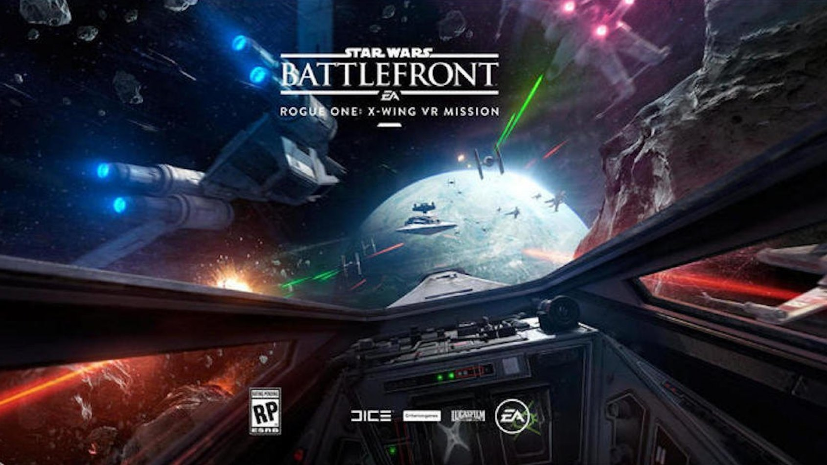 Battlefront Rogue One: X-Wing VR Mission est disponible!