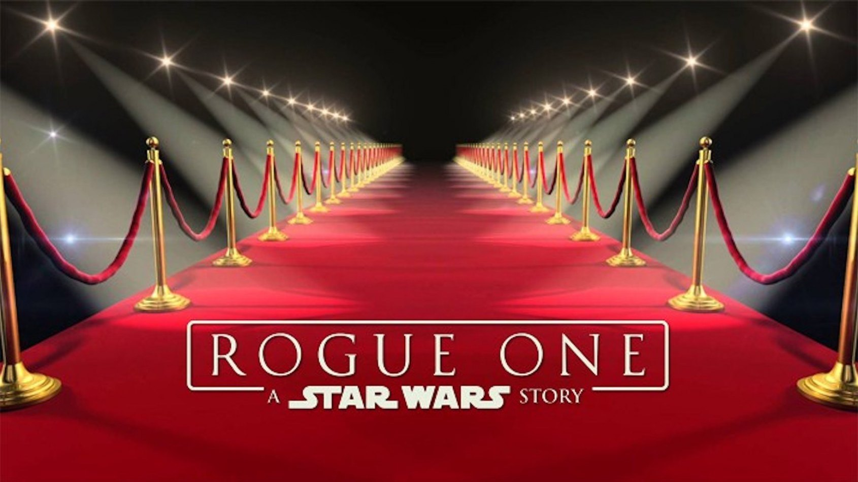 Le live stream de la 'Rogue One Red Carpet Premiere' aura lieu samedi