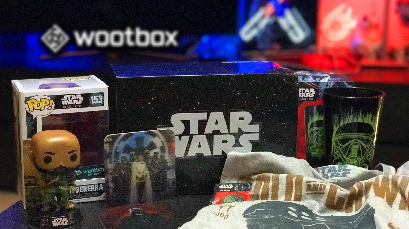 La Wootbox Star Wars est arrivée avec une POP Rogue One Exclusive !