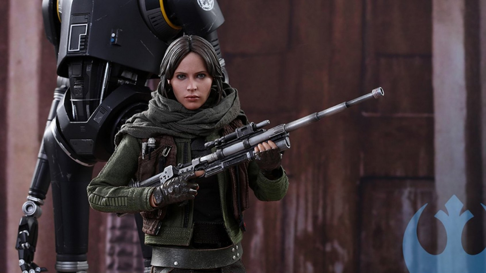 Hot Toys Sixth Scale Figures: Jyn Erso