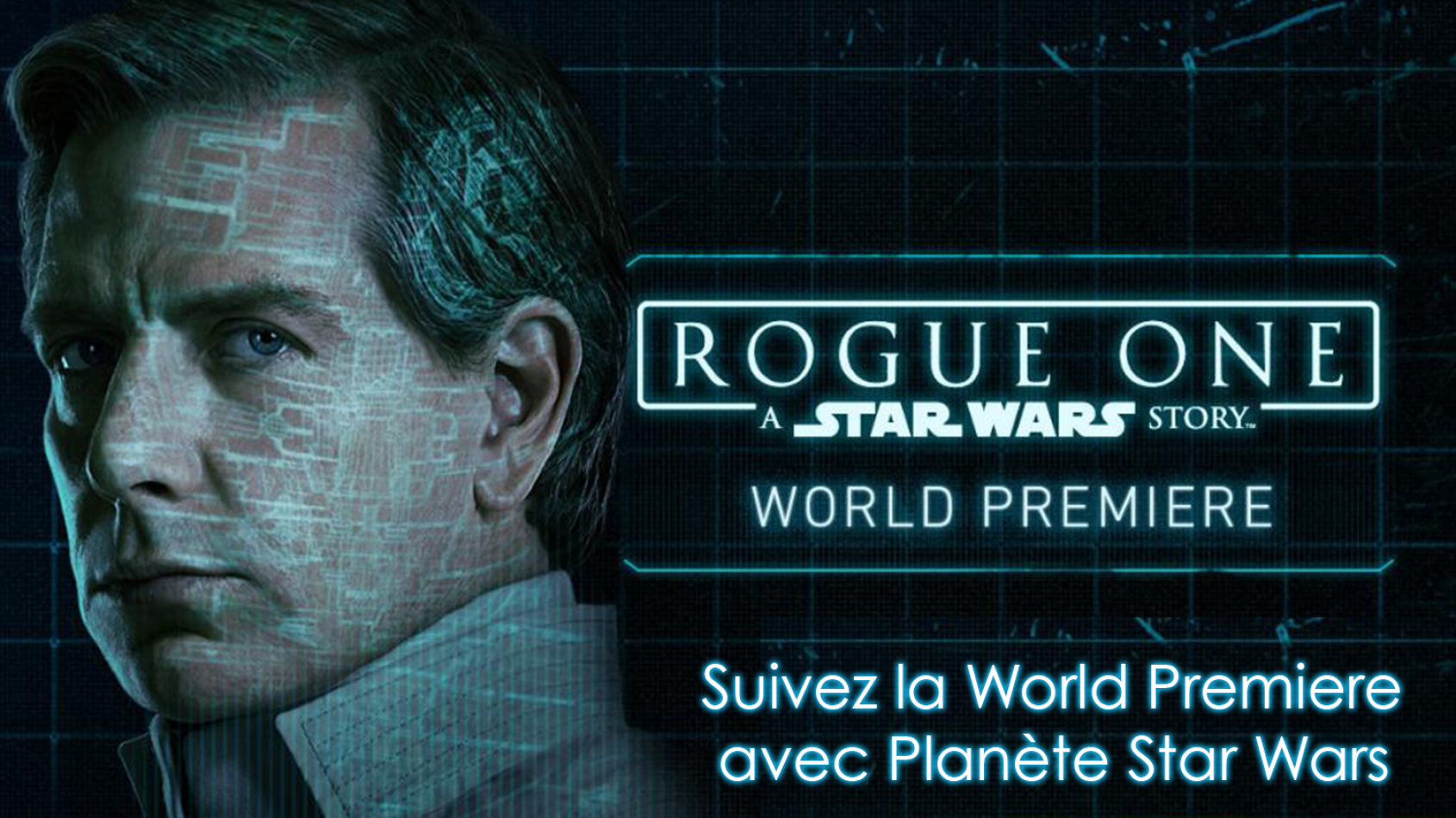 Ouverture de la World Premiere de Rogue One !!
