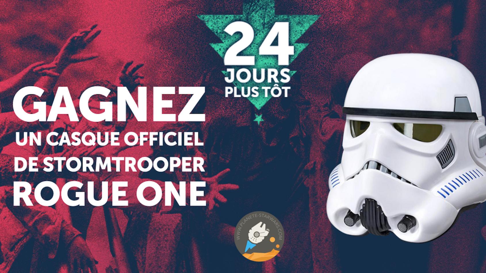 Vous voulez un casque de Stormtrooper ? C'est avec Spotern !