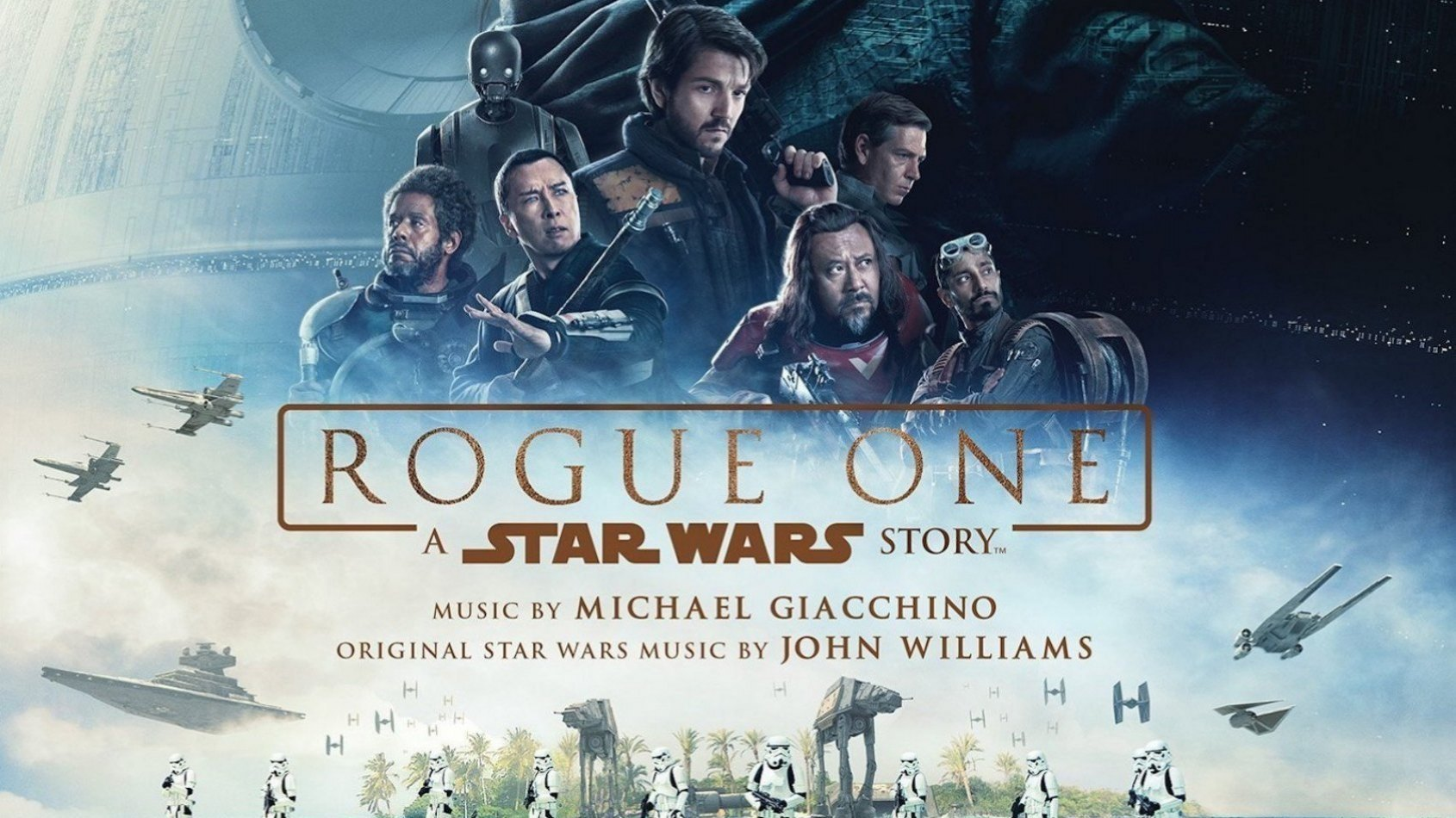 Les musiques de Rogue One sont disponibles!