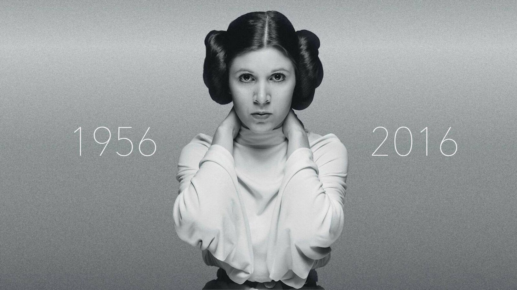 Carrie Fisher, la Princesse Leia nous a quittés et a rejoint la Force.