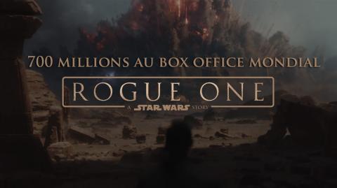 Rogue One passe le cap des 700 millions au box office mondial !
