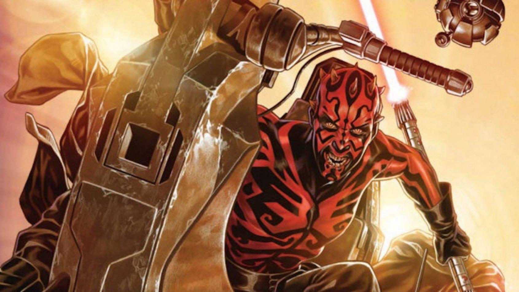 Dark Maul face aux Rathtars dans la prochaine série de comics!