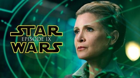 MÀJ: Leia aurait dû avoir un rôle important dans l'Épisode IX
