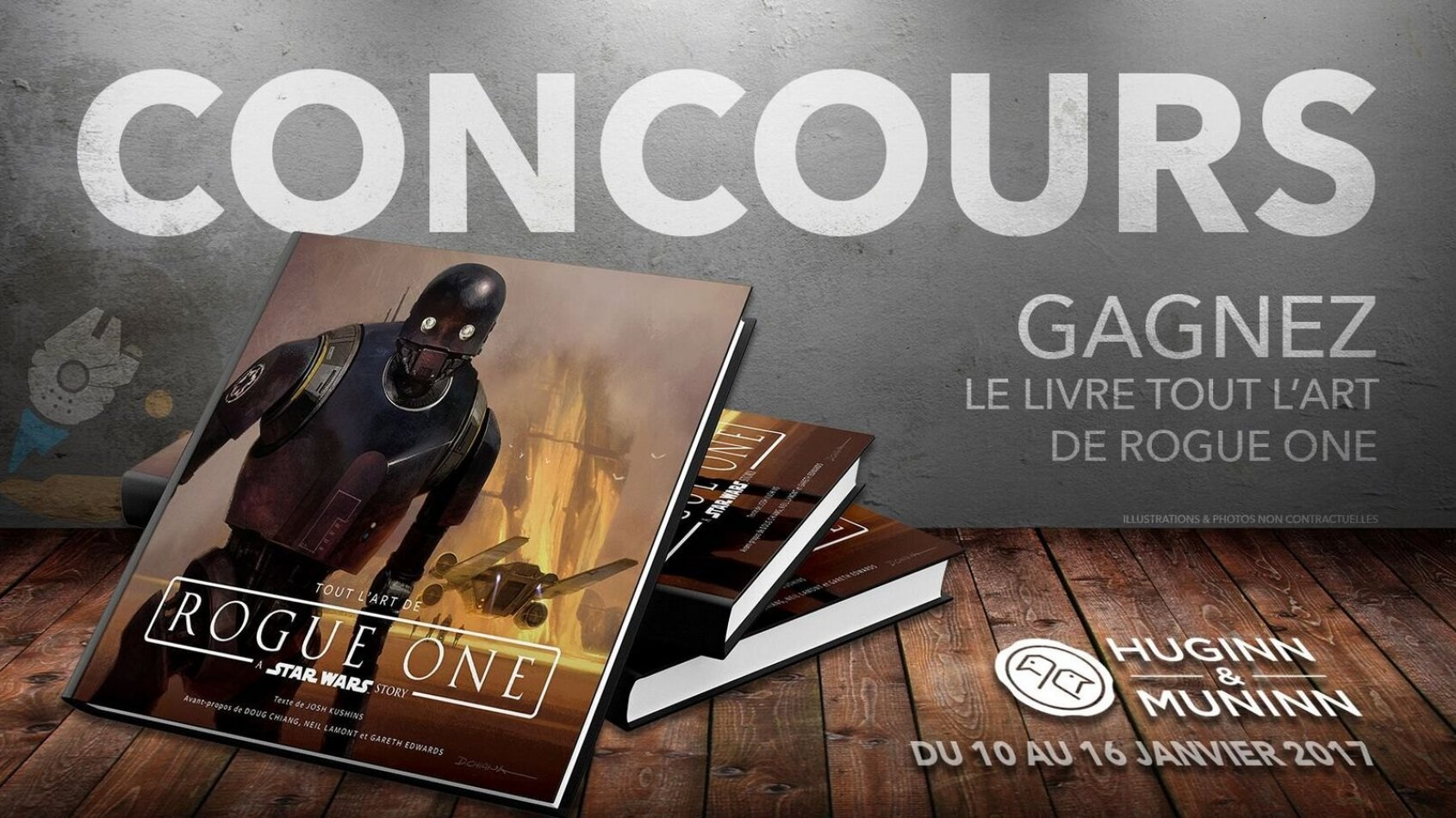 Concours : Gagnez le livre Tout l'Art de Rogue One