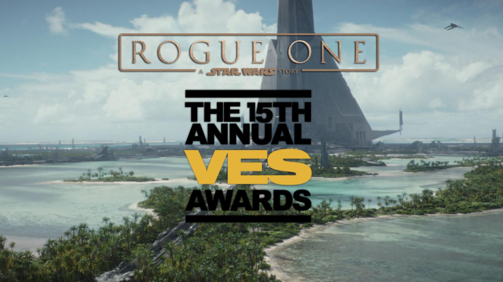Rogue One nominé pour 7 VES Awards