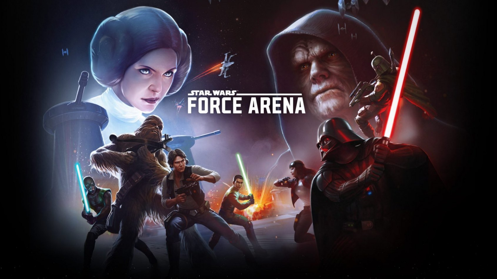 Star Wars: Force Arena est maintenant disponible!