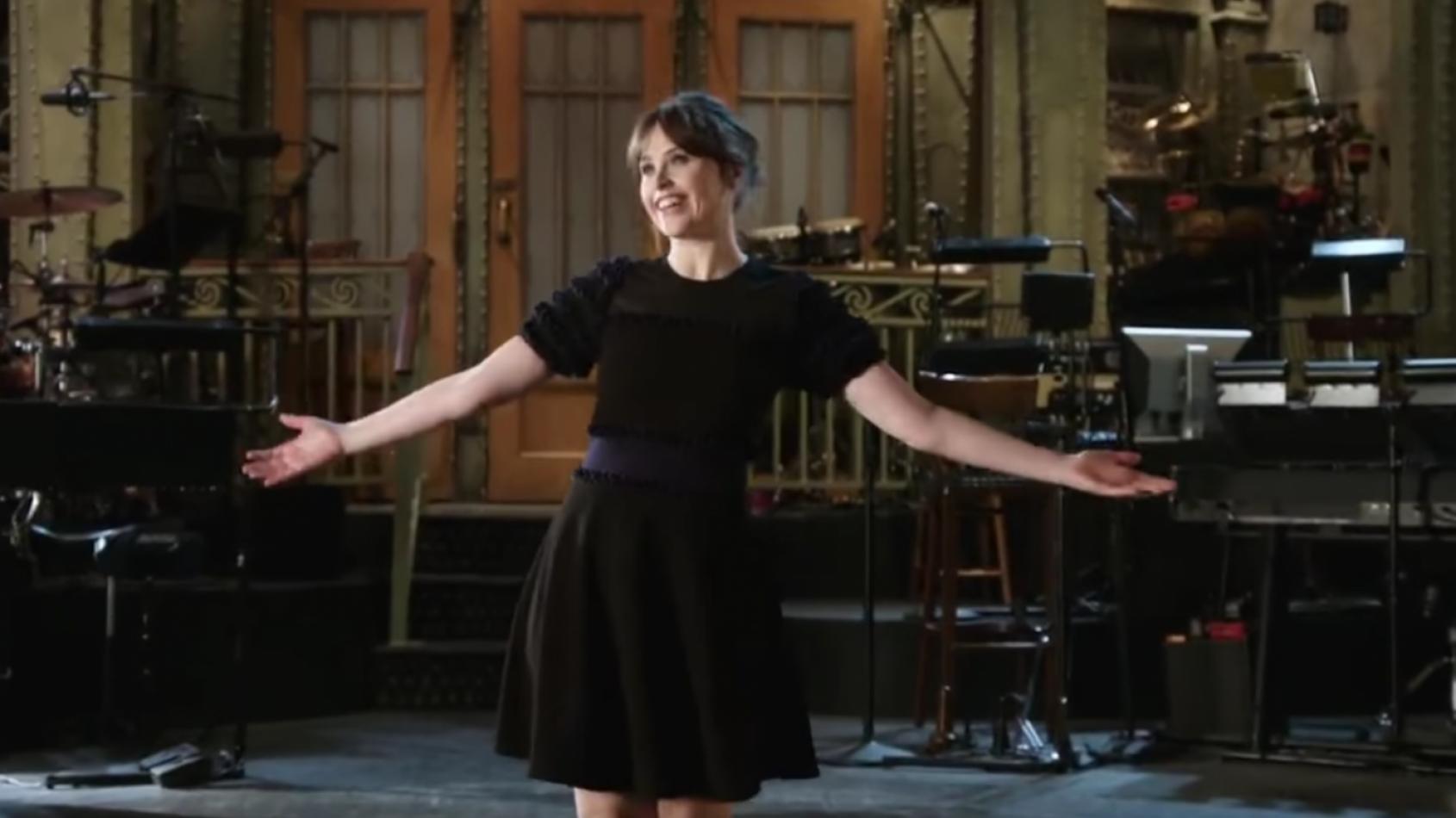 Felicity Jones présentera le 'Saturday Night Live' ce week-end