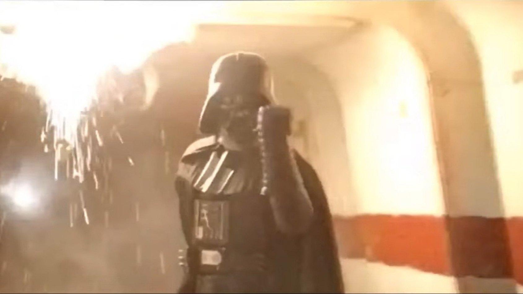 Le massacre de Dark Vador n'était à la base pas prévu dans Rogue One !