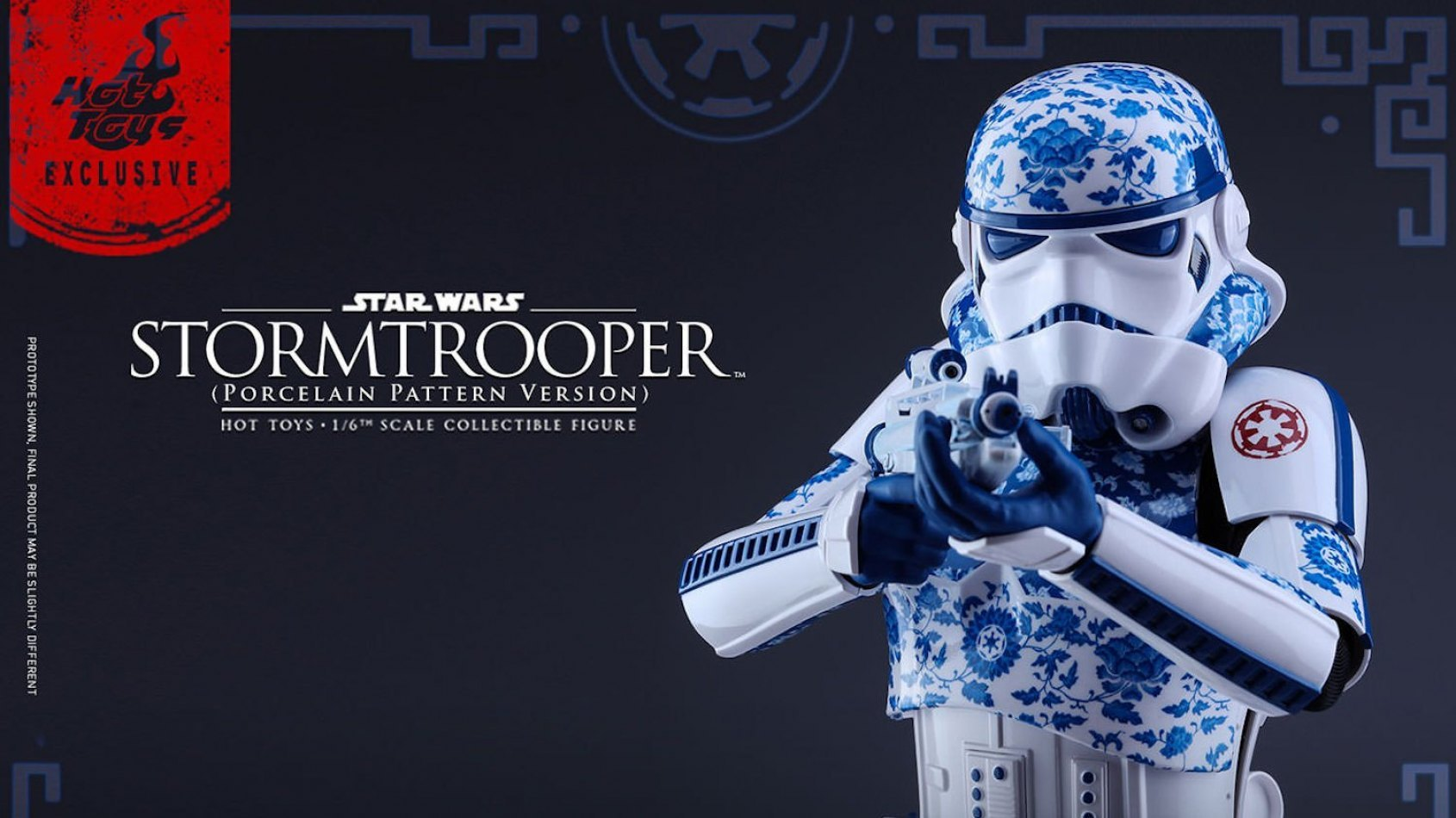 Insolite: stormtrooper version porcelaine par Hot Toys
