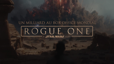 Rogue One dépasse le milliard de dollars au box office mondial