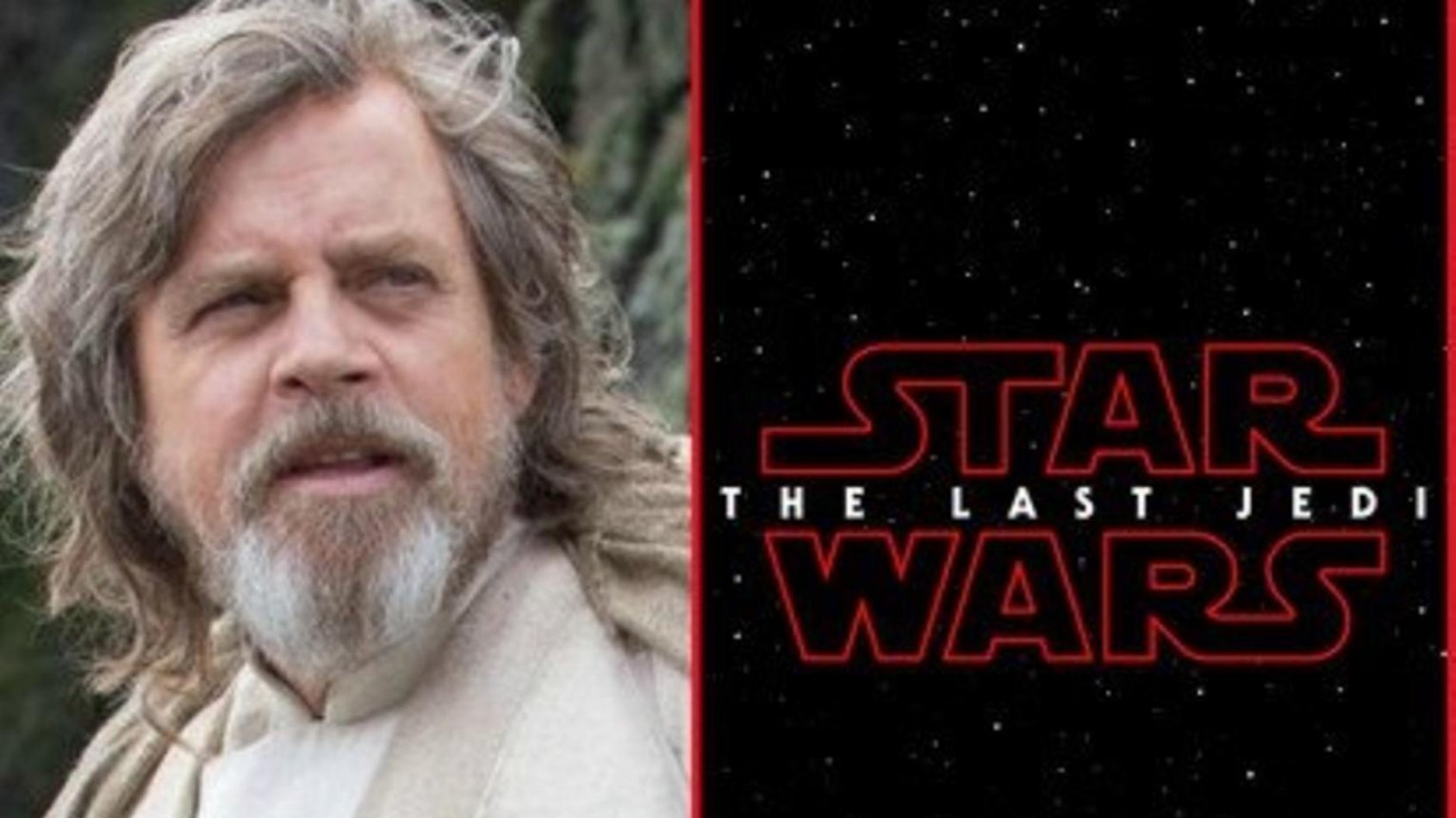 La réaction de Mark Hamill au titre de l'épisode VIII !