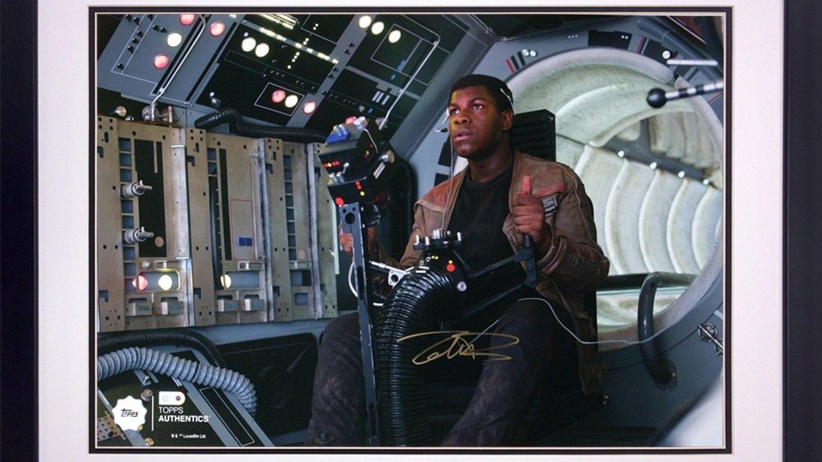 Des autographes et photos officiels Star Wars chez Topps !