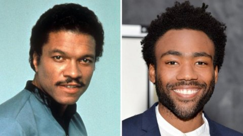 Billy Dee Williams a rencontré Donald Glover !