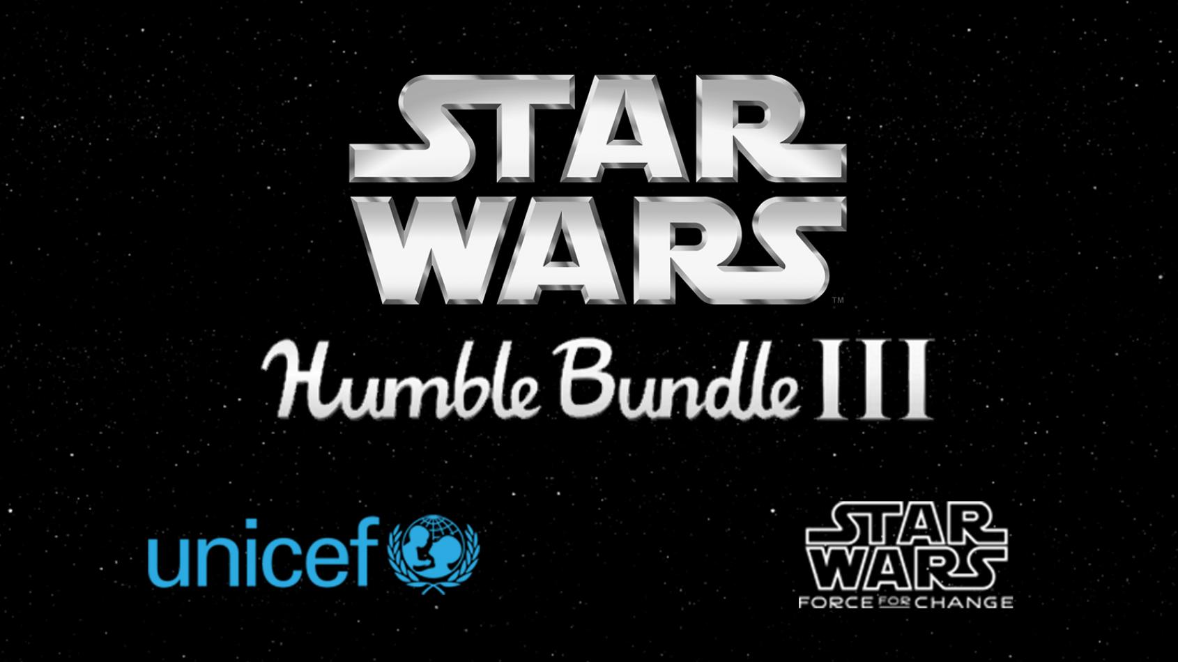 Le Humble Bundle Star Wars est de retour
