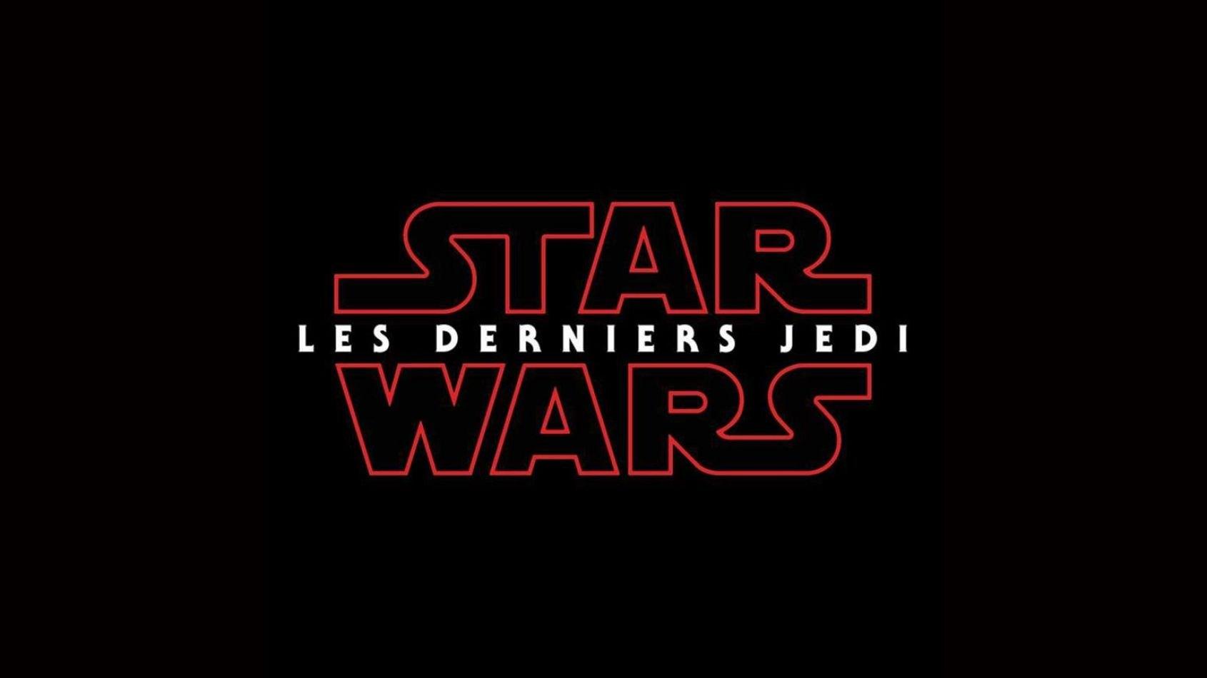 Les Derniers Jedi sera le titre français de l'Episode VIII