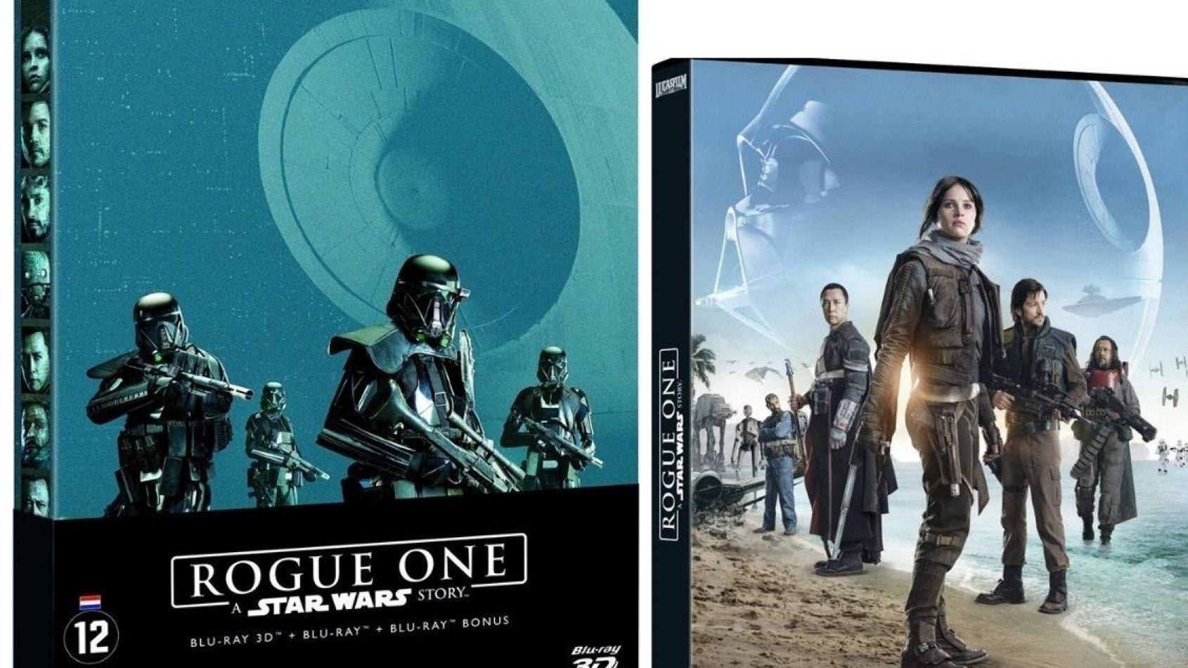 Les Dates et les Bonus des Blu-Ray et DVD de Rogue One en France !