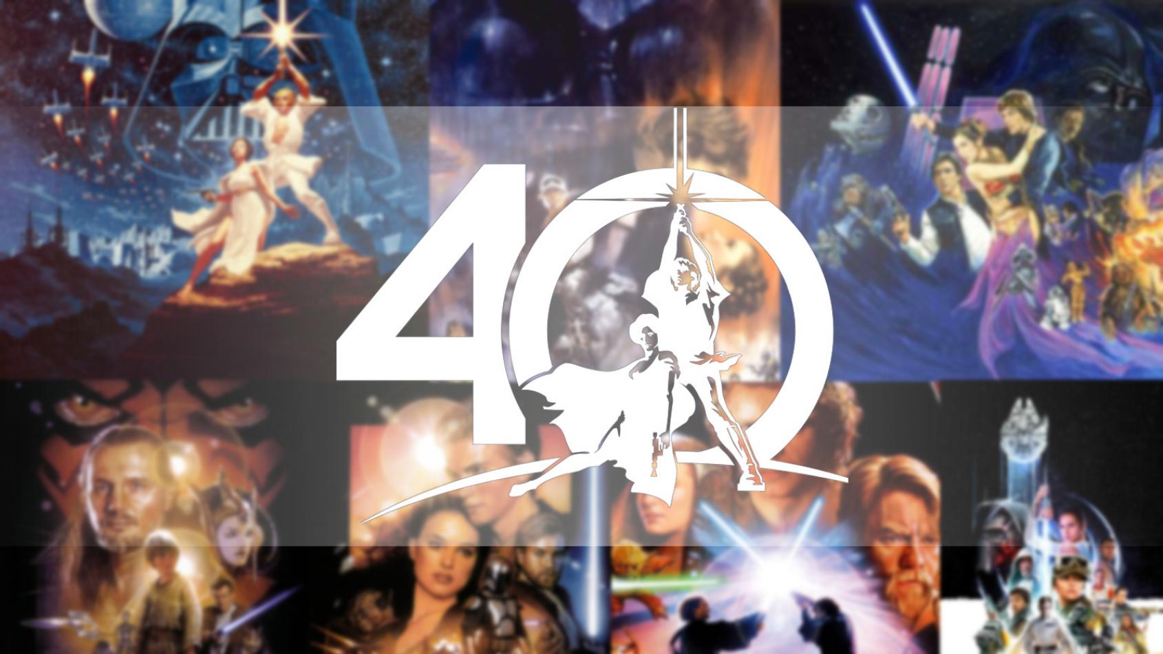 Des images en ultra haute résolution pour les 40 ans de Star Wars !