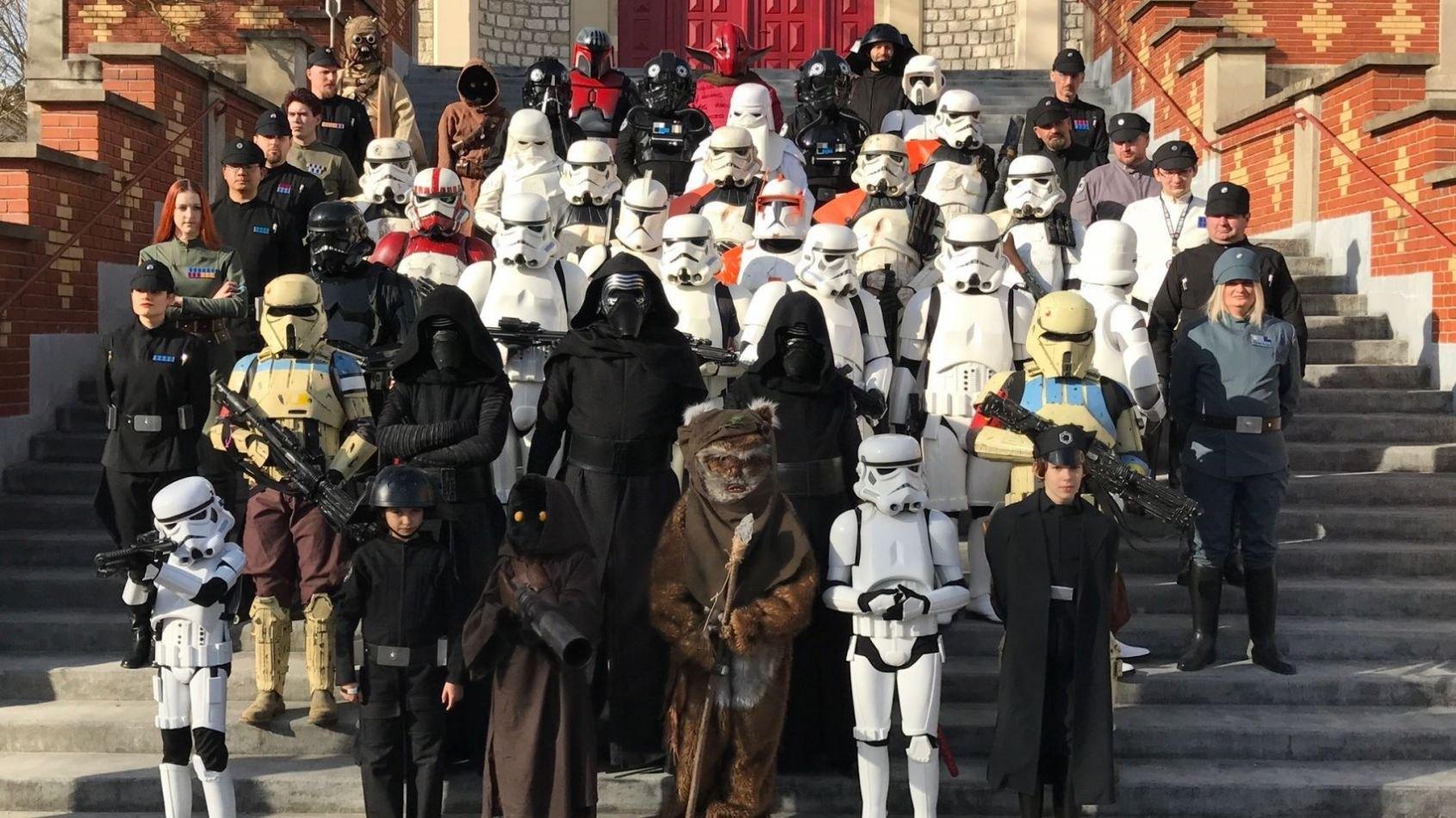 Tout l'Empire et les Rebels à Migennes ce week-end